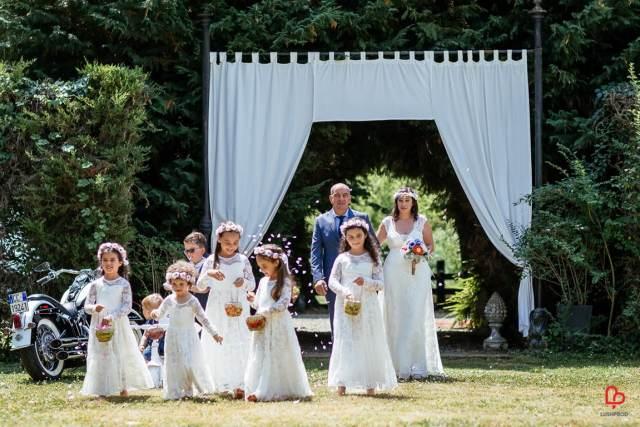 Fotografo Matrimonio Piacenza entrata sposa