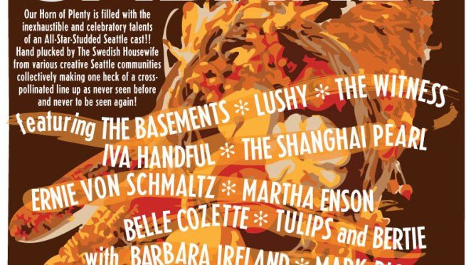 Cornucopia Cabaret benefit for Treehouse Nov 18 Triple Door