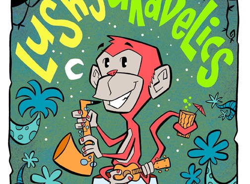 LUSHY AND THE UKADELICS at BOB'S JAVA JIVE – NOV 9 TACOMA !!!