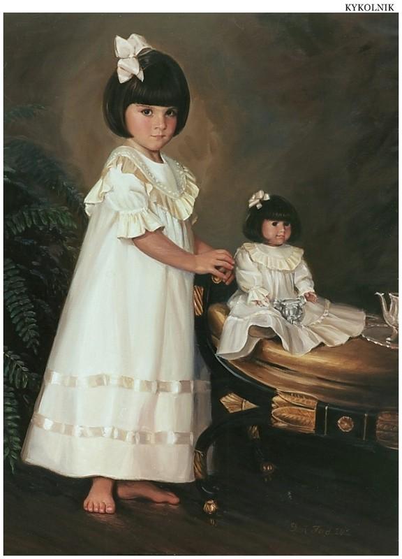 Superbes portraits d'enfants