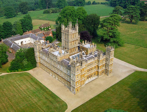 Le ch teau de highclere downton abbey les chroniques de loulou - Chateau downton abbey ...