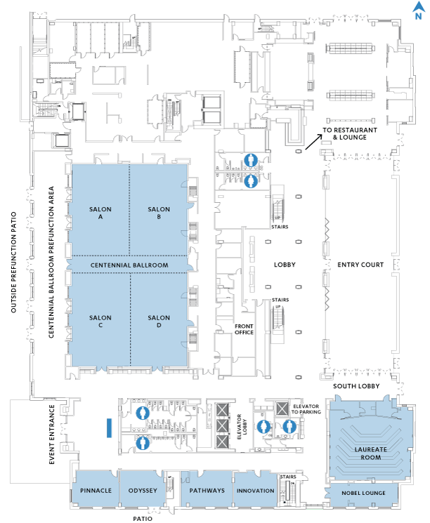 Los Angeles Convention Center Maps : angeles, convention, center, Floor, Plans, Capacities, Luskin, Conference, Center