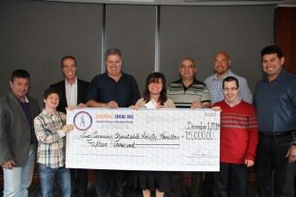 Liuna Local 183 Charitable Foundation to Hamilton Centre