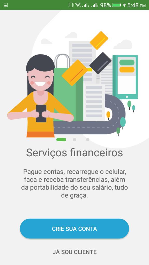ScreenShot of PagBank App