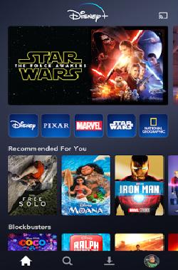 ScreenShot of Disney Plus Apk