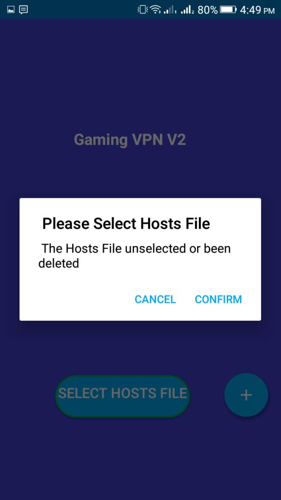 Screenshot of Gaming VPN V2 Apk