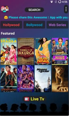 ScreenShot of Movie Time