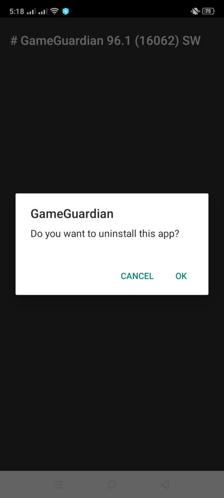 Screenshot of Game Guardian Apk