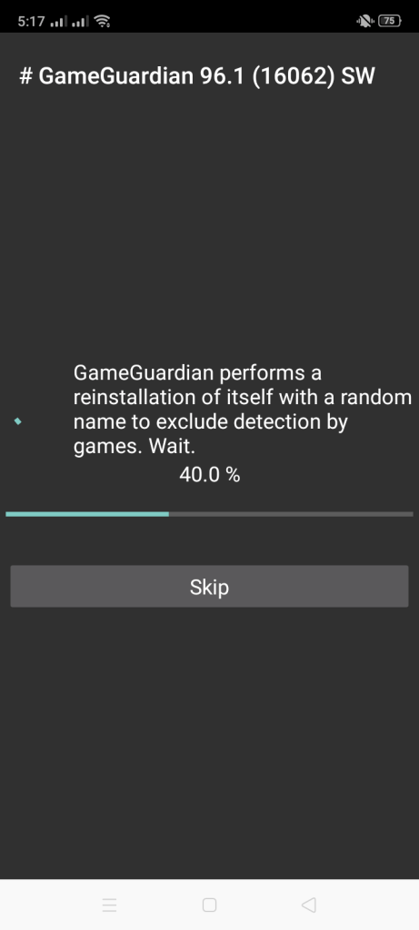 Screenshot of Game Guardian Apk Latest Version