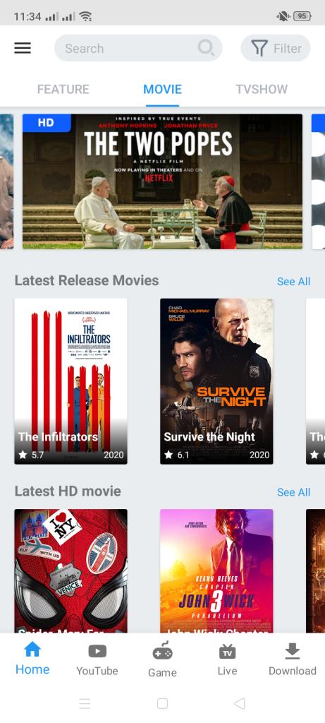 Screenshot of VidMix Apk Latest Version