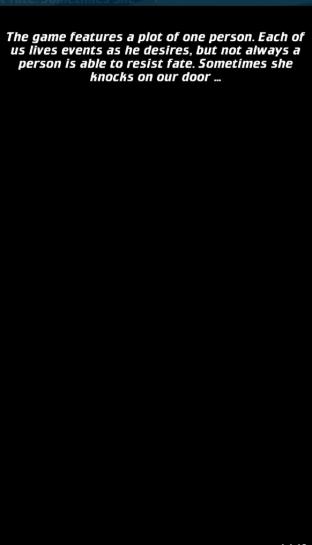 Screenshot of Lost Life App