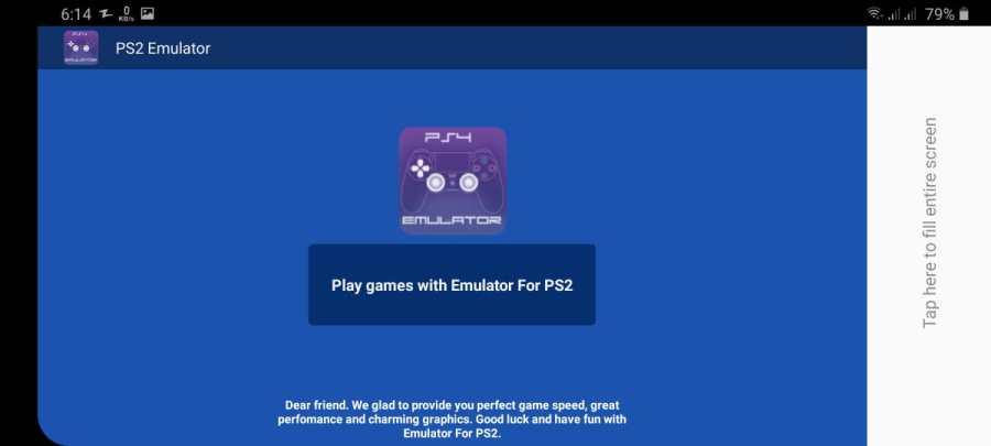 Screenshot of PS4 Emulator Apk