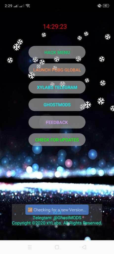 Screenshot of XY Ghost Hack v2.3