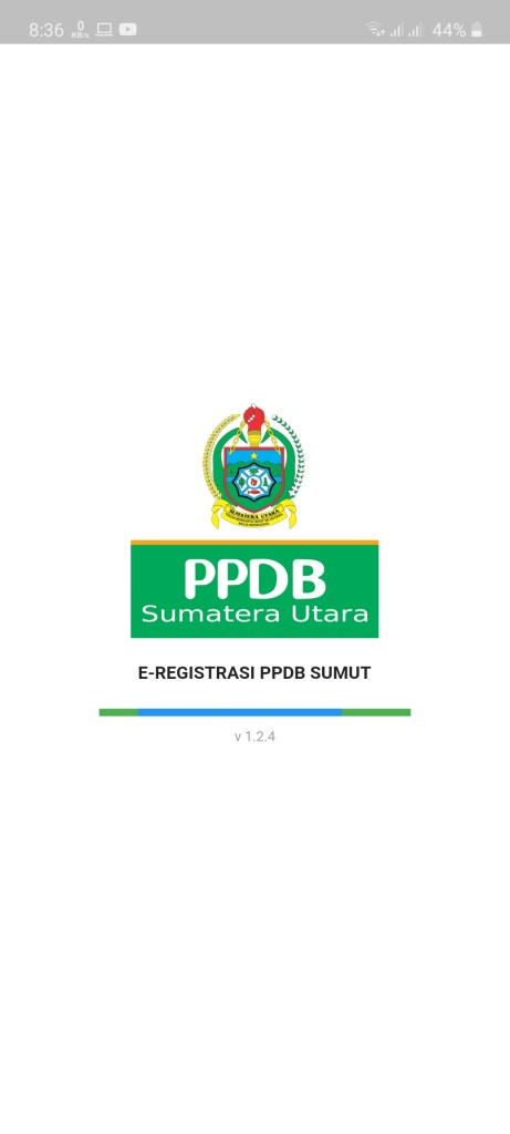 Screenshot of ppdb.disdik.sumutprov.go.id 2020 Apk