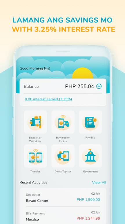 Screenshot of DiskarTech App