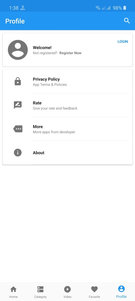 Screenshot of Dramanice App Download