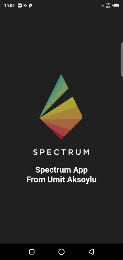Screenshot of Full Spectrum Camera App