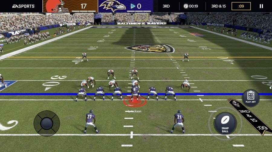 Screenshot of Madden NFL 21 Apk