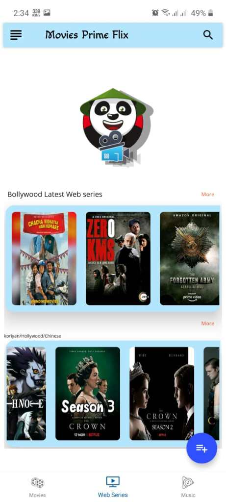 Screenshot of Movies flix Pro