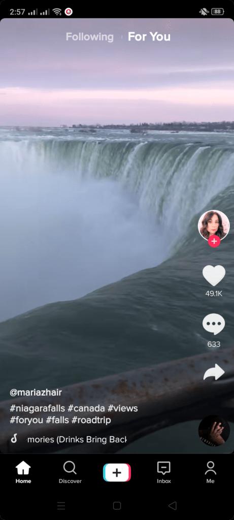 Screenshot of TikTok-Pro App
