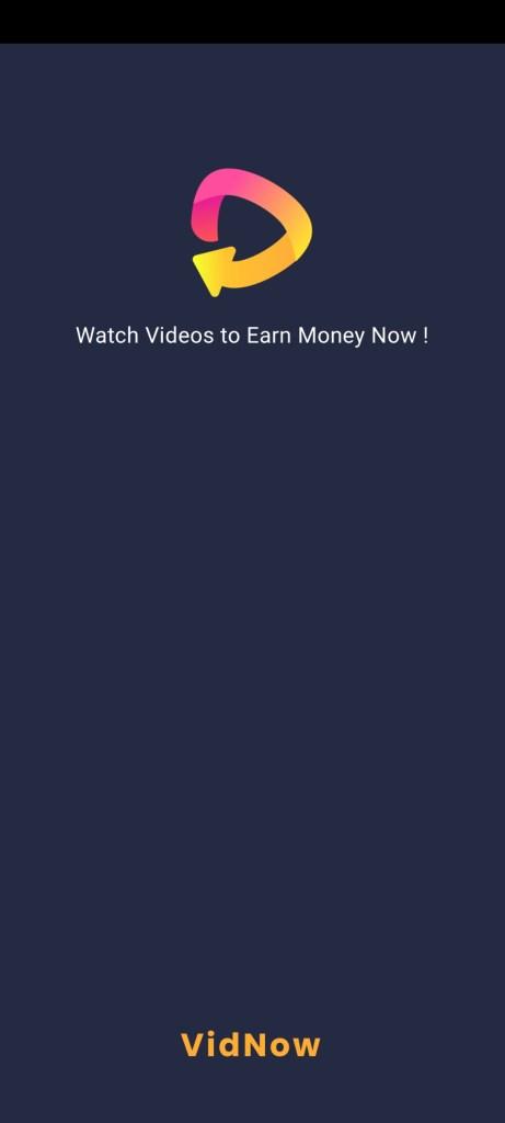 Screenshot of Vidnow App