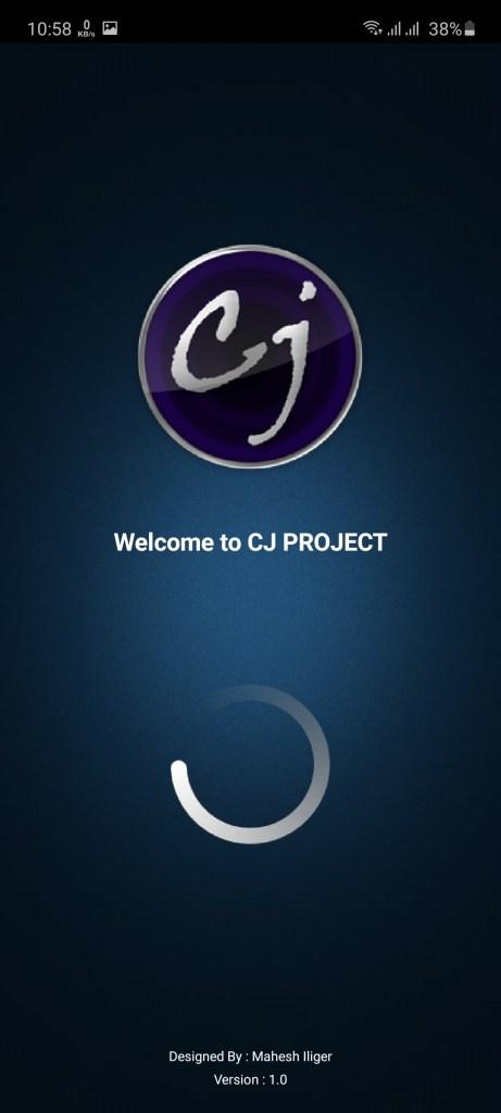 Screenshot of CJ PROJECT