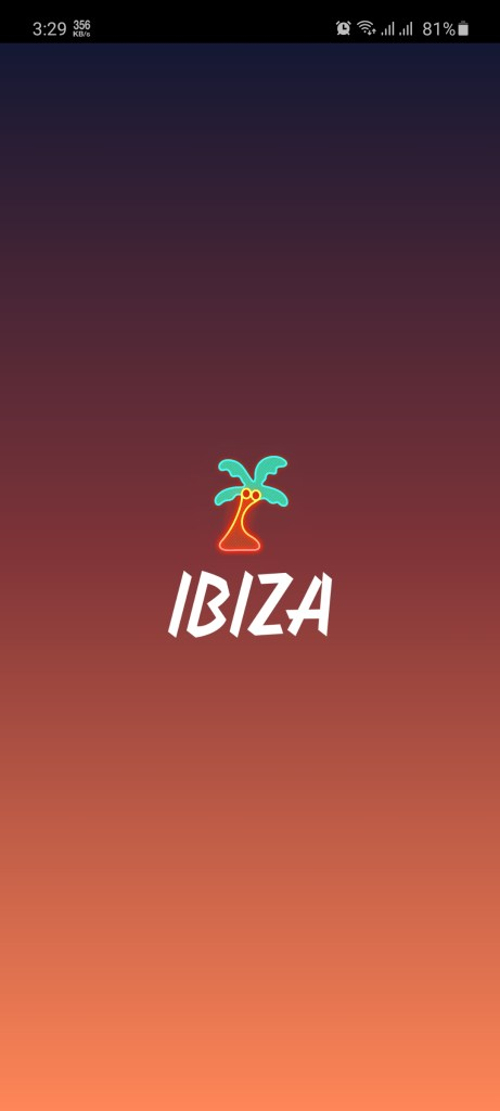 Screenshot of Ibiza Video Chat
