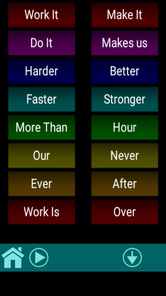 Screenshot of iDaft App