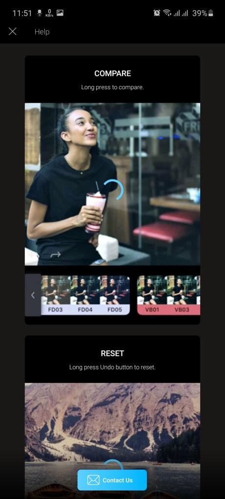 Screenshot of Enlight QuickShot Pro Apk Download