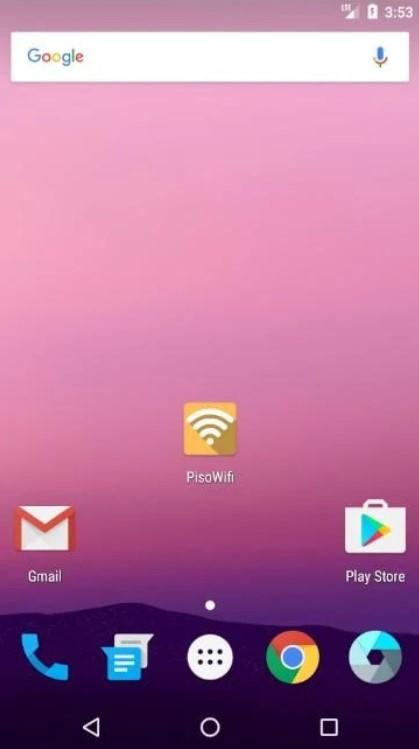 Screenshot of PisoWifi