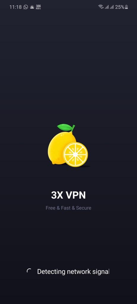 Screenshot of 3X VPN