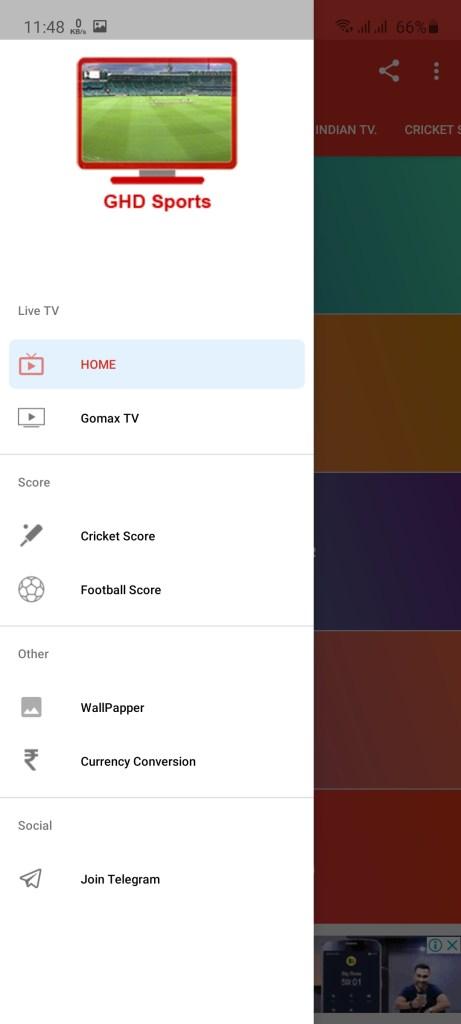 Screenshot of GHD Sports Pro Mod Apk