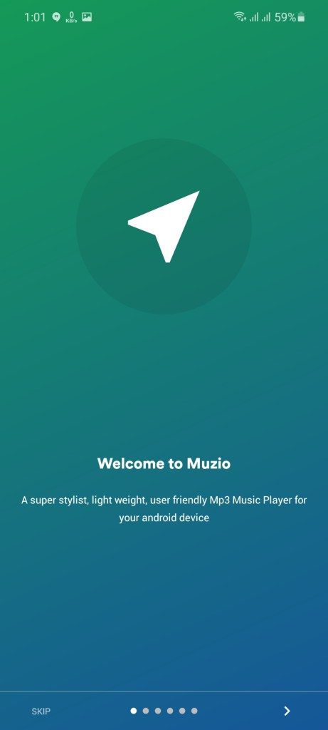 Screenshot of Muzio Player Pro Apk