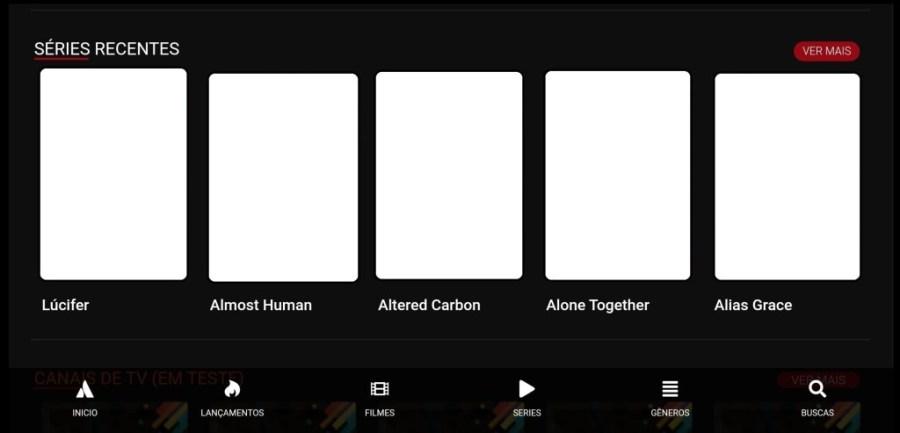 Screenshot of Pobreflix Apk