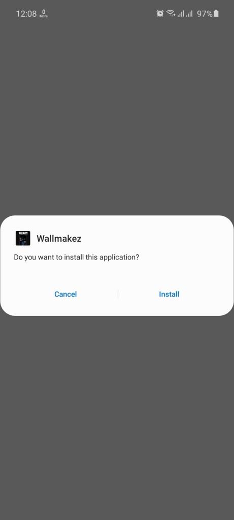 Screenshot of WallMakez