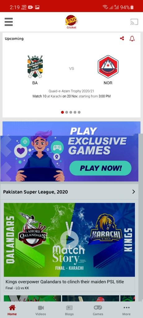 Screenshot of Jazz Cricket Apk