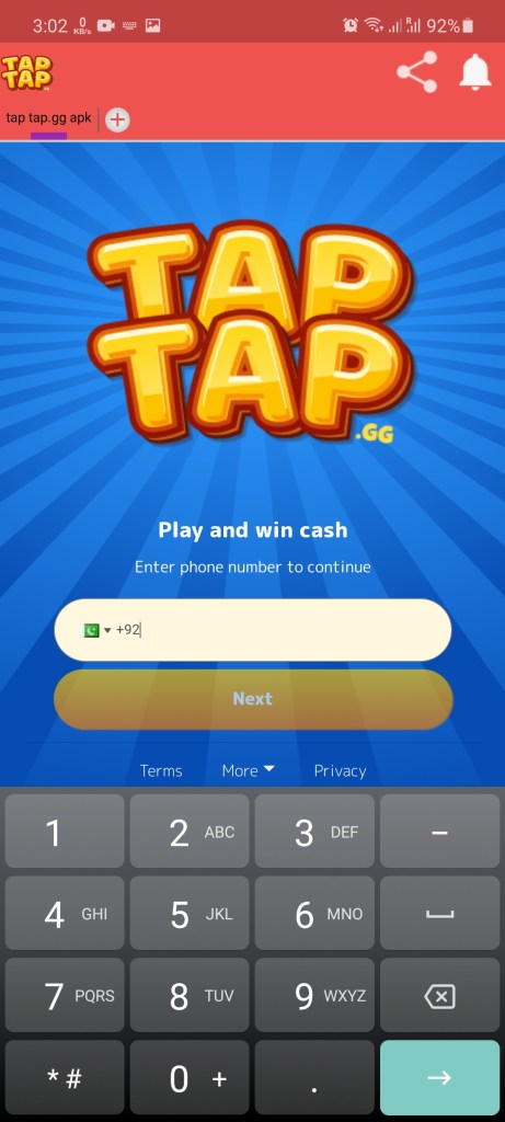 Screenshot of Tap Tap.GG For Android