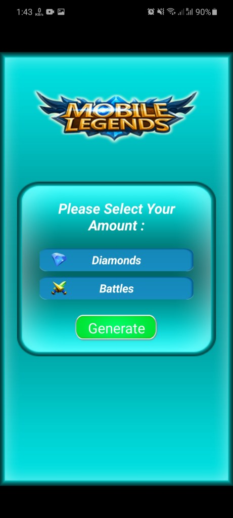 Screenshot of Free Diamond ML For Android