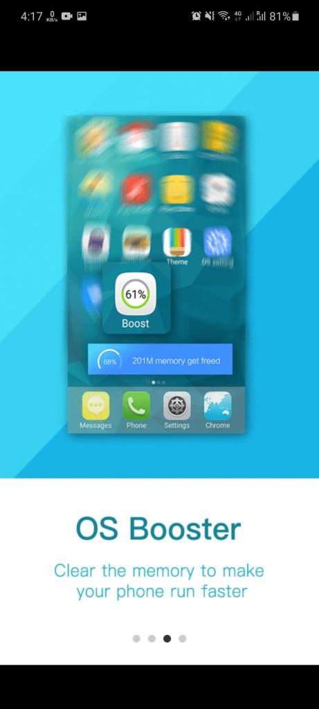 Screenshot of IOS Emulator Apk