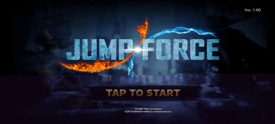 Screenshot of Jump Force Game