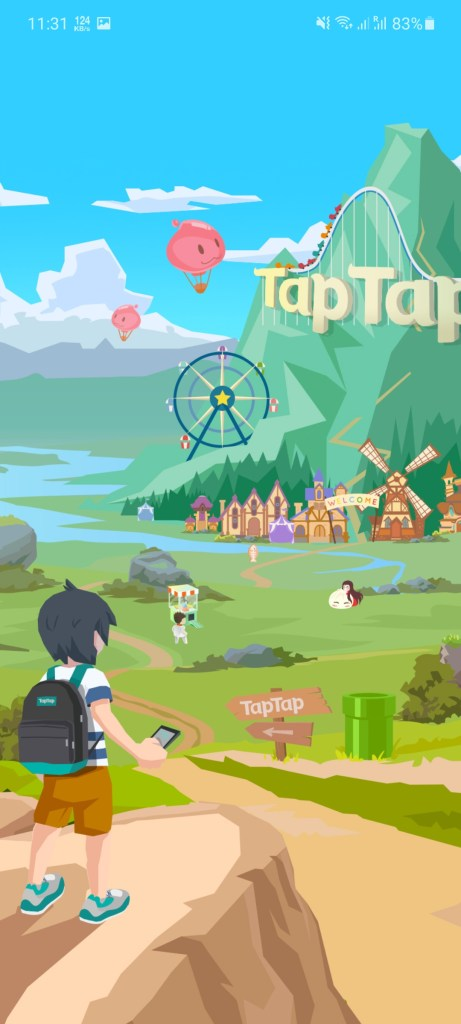 Screenshot of Tap Tap Global Apk