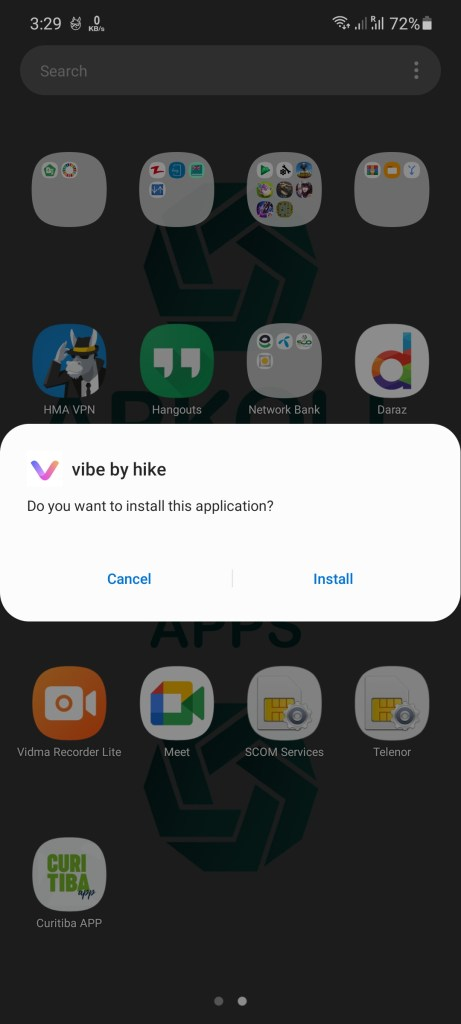 Screenshot of Vibe By Hike For Android