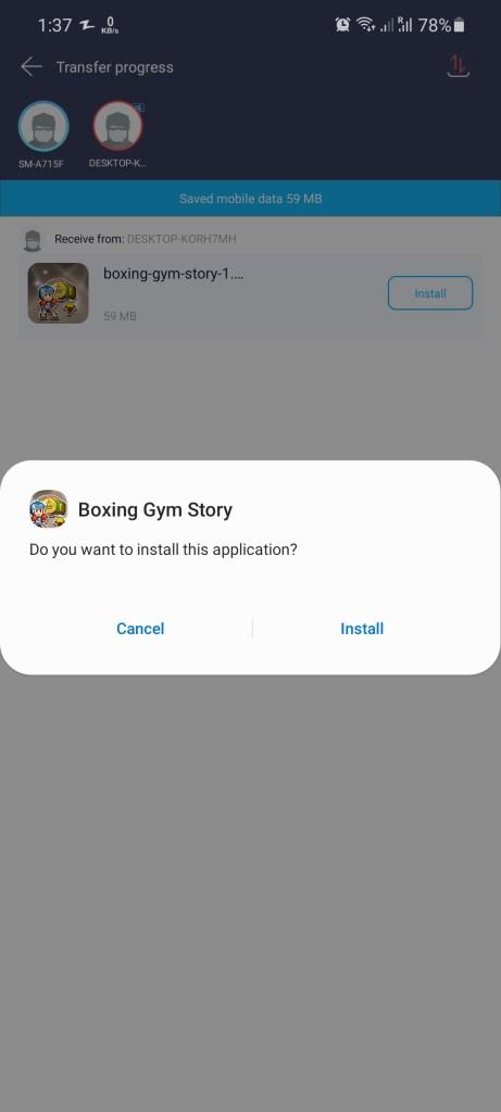 Screenshot of Boxing Gym Story Apk