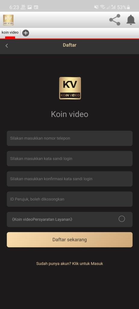 Screenshot of KoinVideo Apk