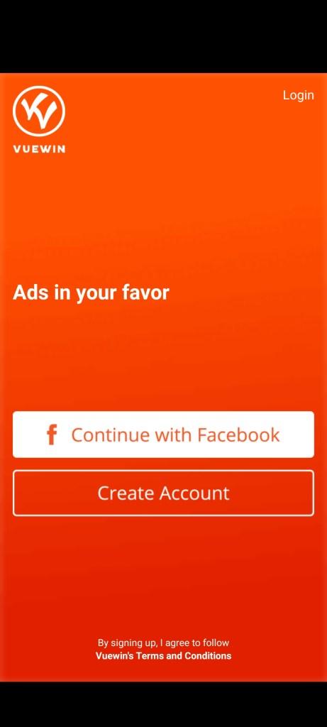 Screenshot of Vuewin Android