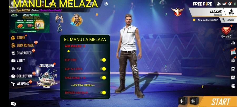 Screenshot of Heroico VIP