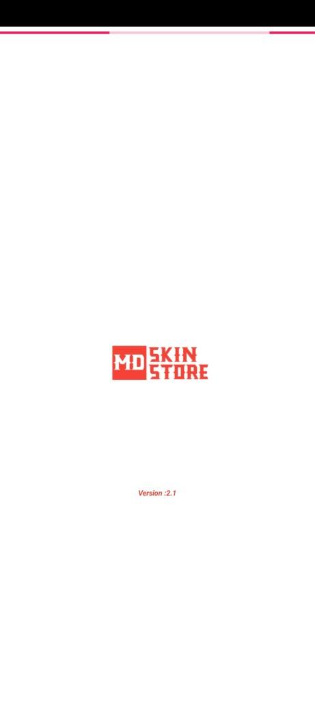 Screenshot of MD Skin Store