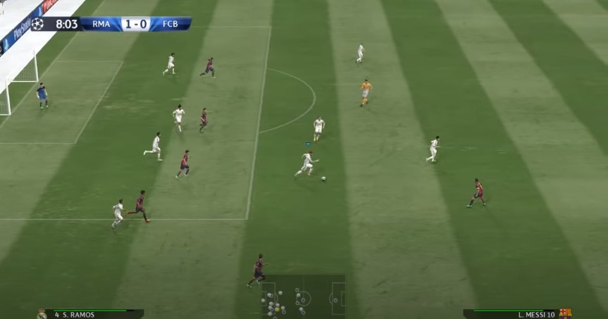 Screenshot of PES 15 Apk