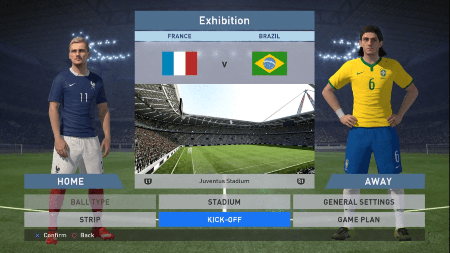 Screenshot of PES 16 Apk