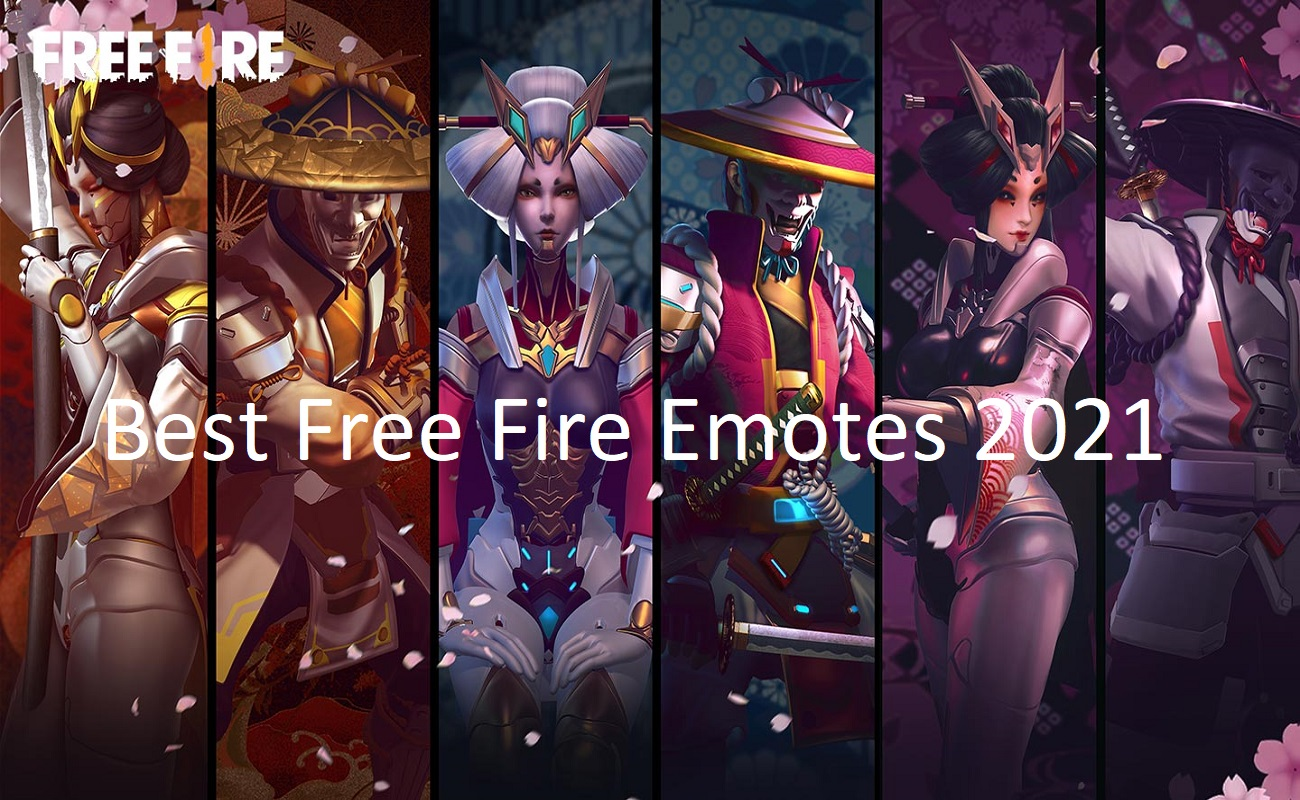 Best Free Fire Emotes 2021